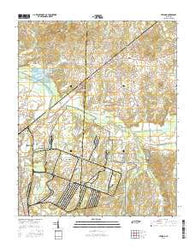 Atwood Tennessee Current topographic map, 1:24000 scale, 7.5 X 7.5 Minute, Year 2016