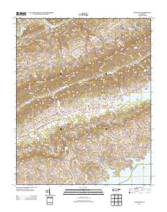 Avondale Tennessee Historical topographic map, 1:24000 scale, 7.5 X 7.5 Minute, Year 2013