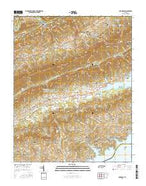 Avondale Tennessee Current topographic map, 1:24000 scale, 7.5 X 7.5 Minute, Year 2016 from Tennessee Map Store