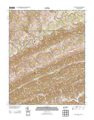 Back Valley Tennessee Historical topographic map, 1:24000 scale, 7.5 X 7.5 Minute, Year 2013