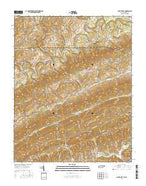 Back Valley Tennessee Current topographic map, 1:24000 scale, 7.5 X 7.5 Minute, Year 2016 from Tennessee Map Store