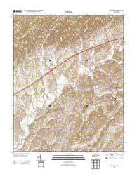Baileyton Tennessee Historical topographic map, 1:24000 scale, 7.5 X 7.5 Minute, Year 2013
