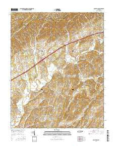Baileyton Tennessee Current topographic map, 1:24000 scale, 7.5 X 7.5 Minute, Year 2016