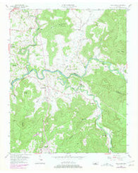 Bald Knob Tennessee Historical topographic map, 1:24000 scale, 7.5 X 7.5 Minute, Year 1956