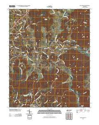 Bald Knob Tennessee Historical topographic map, 1:24000 scale, 7.5 X 7.5 Minute, Year 2010