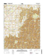Beans Creek Tennessee Current topographic map, 1:24000 scale, 7.5 X 7.5 Minute, Year 2016 from Tennessee Map Store