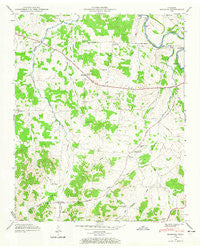 Bedford Tennessee Historical topographic map, 1:24000 scale, 7.5 X 7.5 Minute, Year 1947