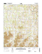 Bedford Tennessee Current topographic map, 1:24000 scale, 7.5 X 7.5 Minute, Year 2016 from Tennessee Map Store