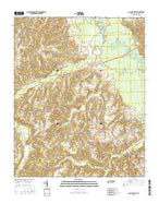 Bolivar West Tennessee Current topographic map, 1:24000 scale, 7.5 X 7.5 Minute, Year 2016 from Tennessee Map Store
