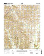 Brighton Tennessee Current topographic map, 1:24000 scale, 7.5 X 7.5 Minute, Year 2016 from Tennessee Map Store