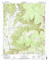 Burrow Cove Tennessee Historical topographic map, 1:24000 scale, 7.5 X 7.5 Minute, Year 1947
