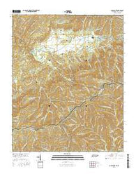Cades Cove Tennessee Current topographic map, 1:24000 scale, 7.5 X 7.5 Minute, Year 2016