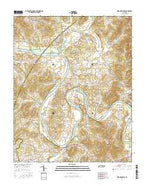 Dixon Springs Tennessee Current topographic map, 1:24000 scale, 7.5 X 7.5 Minute, Year 2016 from Tennessee Map Store