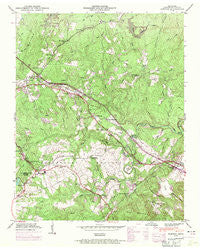 Dorton Tennessee Historical topographic map, 1:24000 scale, 7.5 X 7.5 Minute, Year 1946