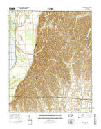 Drummonds Tennessee Current topographic map, 1:24000 scale, 7.5 X 7.5 Minute, Year 2016 from Tennessee Map Store