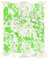 Farmington Tennessee Historical topographic map, 1:24000 scale, 7.5 X 7.5 Minute, Year 1947