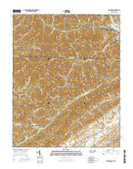 Fork Ridge Tennessee Current topographic map, 1:24000 scale, 7.5 X 7.5 Minute, Year 2016 from Tennessee Map Store