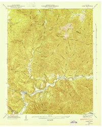 Gobey Tennessee Historical topographic map, 1:24000 scale, 7.5 X 7.5 Minute, Year 1946