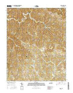 Hilham Tennessee Current topographic map, 1:24000 scale, 7.5 X 7.5 Minute, Year 2016 from Tennessee Map Store
