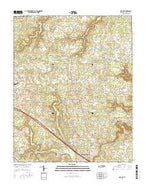 Isoline Tennessee Current topographic map, 1:24000 scale, 7.5 X 7.5 Minute, Year 2016 from Tennessee Map Store