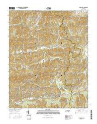 Jones Cove Tennessee Current topographic map, 1:24000 scale, 7.5 X 7.5 Minute, Year 2016