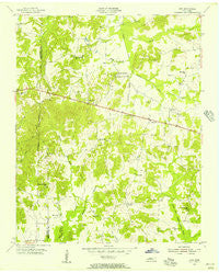 Juno Tennessee Historical topographic map, 1:24000 scale, 7.5 X 7.5 Minute, Year 1955
