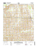 Kenton Tennessee Current topographic map, 1:24000 scale, 7.5 X 7.5 Minute, Year 2016 from Tennessee Map Store
