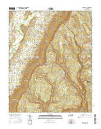 Ketner Gap Tennessee Current topographic map, 1:24000 scale, 7.5 X 7.5 Minute, Year 2016 from Tennessee Map Store
