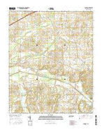 Lambert Tennessee Current topographic map, 1:24000 scale, 7.5 X 7.5 Minute, Year 2016 from Tennessee Map Store