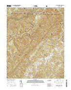 Laurel Bloomery Tennessee Current topographic map, 1:24000 scale, 7.5 X 7.5 Minute, Year 2016 from Tennessee Map Store