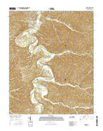 Linden Tennessee Current topographic map, 1:24000 scale, 7.5 X 7.5 Minute, Year 2016 from Tennessee Map Store
