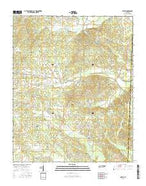 Michie Tennessee Current topographic map, 1:24000 scale, 7.5 X 7.5 Minute, Year 2016 from Tennessee Map Store