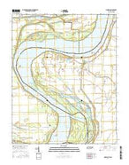 Mooring Tennessee Current topographic map, 1:24000 scale, 7.5 X 7.5 Minute, Year 2016 from Tennessee Map Store
