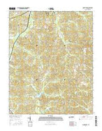 Mount Peter Tennessee Current topographic map, 1:24000 scale, 7.5 X 7.5 Minute, Year 2016 from Tennessee Map Store