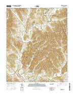 Mulberry Tennessee Current topographic map, 1:24000 scale, 7.5 X 7.5 Minute, Year 2016 from Tennessee Map Store