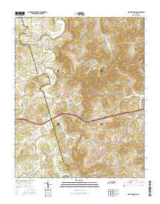 New Middleton Tennessee Current topographic map, 1:24000 scale, 7.5 X 7.5 Minute, Year 2016