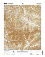 Nolensville Tennessee Current topographic map, 1:24000 scale, 7.5 X 7.5 Minute, Year 2016 from Tennessee Map Store