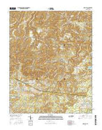 Obey City Tennessee Current topographic map, 1:24000 scale, 7.5 X 7.5 Minute, Year 2016 from Tennessee Map Store