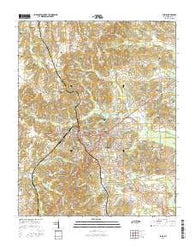 Paris Tennessee Current topographic map, 1:24000 scale, 7.5 X 7.5 Minute, Year 2016