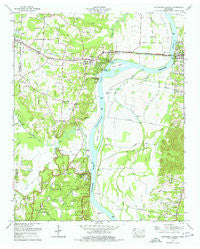 Pittsburg Landing Tennessee Historical topographic map, 1:24000 scale, 7.5 X 7.5 Minute, Year 1972