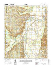Pittsburg Landing Tennessee Current topographic map, 1:24000 scale, 7.5 X 7.5 Minute, Year 2016 from Tennessee Maps Store