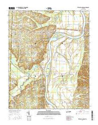 Pittsburg Landing Tennessee Current topographic map, 1:24000 scale, 7.5 X 7.5 Minute, Year 2016