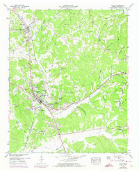 Purdy Tennessee Historical topographic map, 1:24000 scale, 7.5 X 7.5 Minute, Year 1949