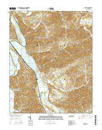 Rankin Tennessee Current topographic map, 1:24000 scale, 7.5 X 7.5 Minute, Year 2016 from Tennessee Map Store