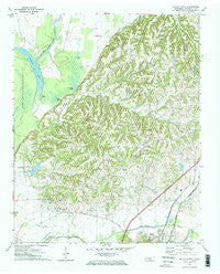 Ripley North Tennessee Historical topographic map, 1:24000 scale, 7.5 X 7.5 Minute, Year 1972