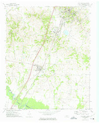 Ripley South Tennessee Historical topographic map, 1:24000 scale, 7.5 X 7.5 Minute, Year 1972