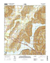 Sequatchie Tennessee Current topographic map, 1:24000 scale, 7.5 X 7.5 Minute, Year 2016