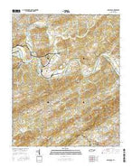 Shooks Gap Tennessee Current topographic map, 1:24000 scale, 7.5 X 7.5 Minute, Year 2016 from Tennessee Map Store