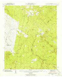 Smartt Mountain Tennessee Historical topographic map, 1:24000 scale, 7.5 X 7.5 Minute, Year 1946