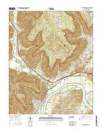 South Pittsburg Tennessee Current topographic map, 1:24000 scale, 7.5 X 7.5 Minute, Year 2016 from Tennessee Map Store